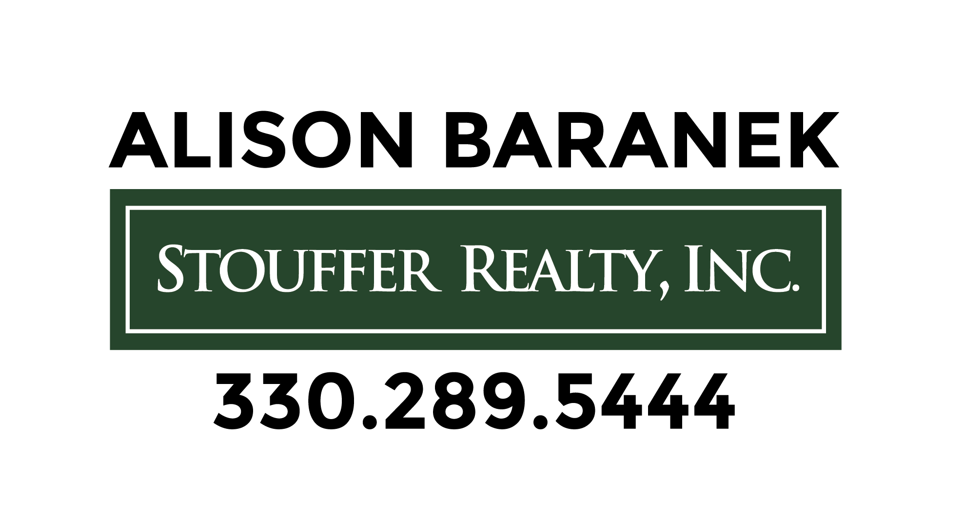 Alison Baranek Stouffer Realty